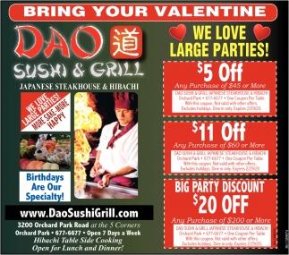 Bring Your Valentine