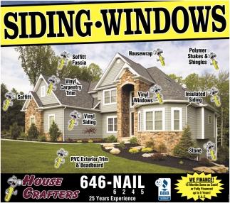 Siding - Windows