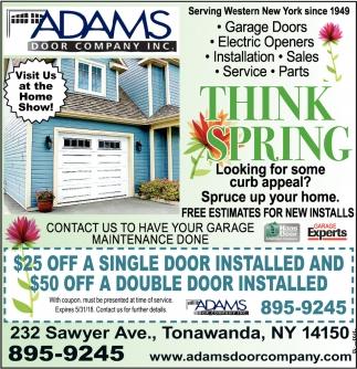 sc 1 st  [BN] Bargains & Think Spring Adams Door Company Inc Tonawanda NY