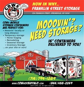 Franklin Street Storage, Cowu0027s Of Buffalo