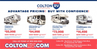 Advantage Pricing! Buy With Confidence!