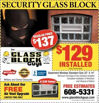 Security Glass Block