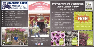 Proven Winners Destination Store Launch Party!