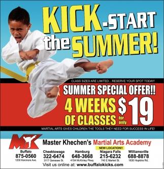 Summer Special Offer!!