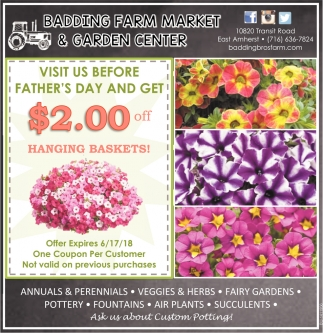 Visit Us Before Father's Day And Get $2.00 Off