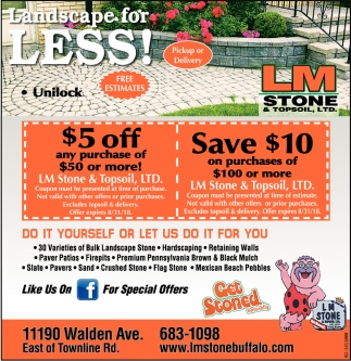 Landscape For Less!