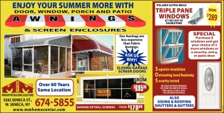 Enjoy Your Summer More With Door, Window, Porch And Patio